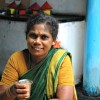 Lady-drinking-South-Indian-filter-coffee