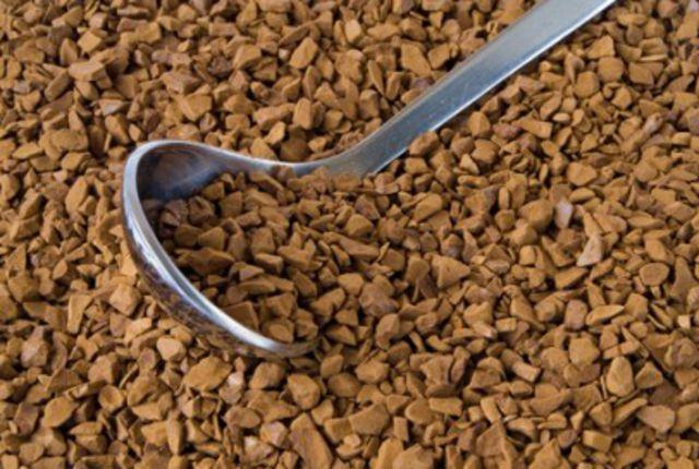 lozhka v rastv coffee