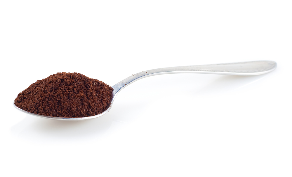 Coffee Powder and spoon